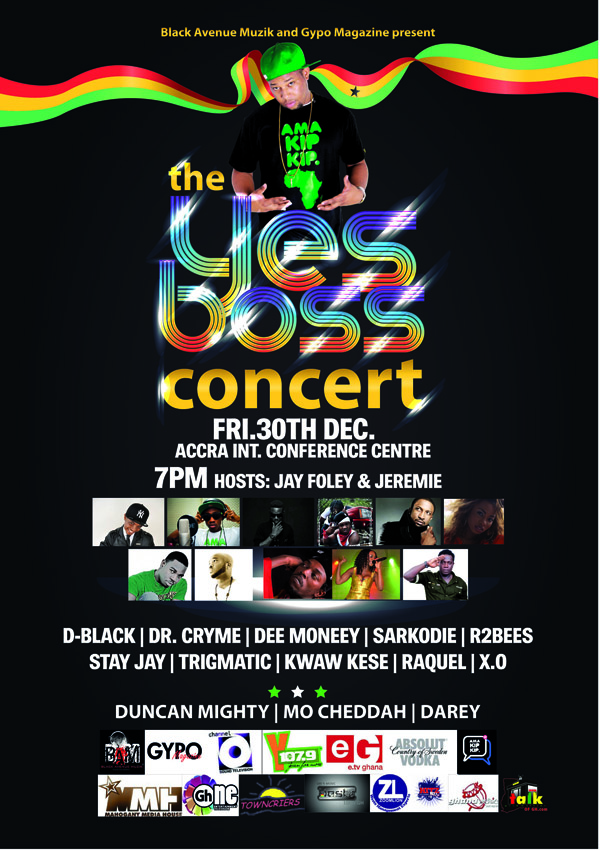 D-Black the Yes Boss Concert
