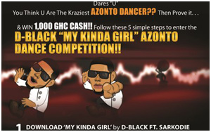 D-Black Azonto Competition