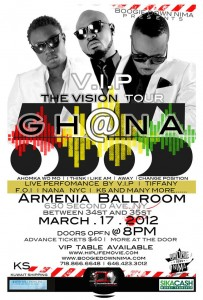 The Vision Tour Ghana @55 Live in New York City