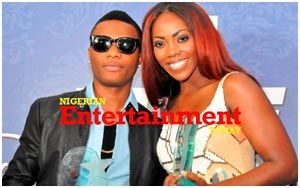 Photos] Wizkid and Tiwa Savage officially unveiled as Pepsi