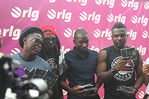 [Photos] R2bees launches 'Refuse to be Broke – Da Revolution II' with support from Sarkodie, 4×4 and others