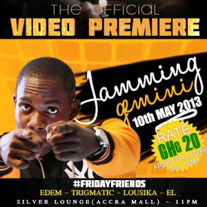 Gemini to premiere Jamming video at the Silver Lounge and LIVE on Google+