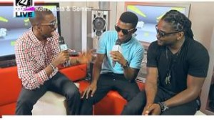 Kofi Kinaata & Samini freestyles on 4syte TV