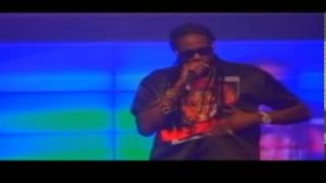 2Chainz & D'Banj Performing in Lagos at the DKM Concert