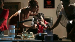 Photos from the making of 'Money Box' video by Jupitar
