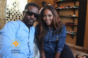 Sarkodie and Tiwa Savage talk about 'Ordinary Love' video and more