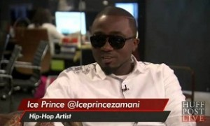 Ice Prince Post-BET Awards Interview on HuffPost LIVE, New York