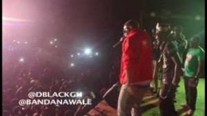 Shatta Wale and D-Black perform Inna Mi Party at YFM Kasapreko Dancehall Jam
