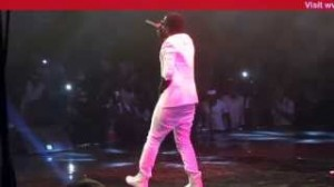 Sarkodie performs at the Vodafone Icons Street Edition