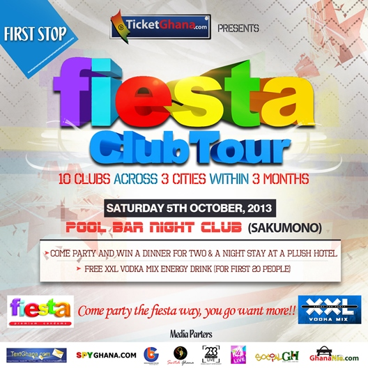 Fiesta Condoms Club Tour