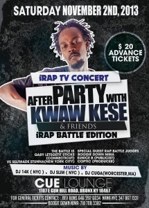 Kwaw Kese ready to shutdown New York City this Saturday