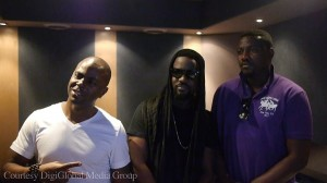 Sarkodie in the studio with John Dumelo
