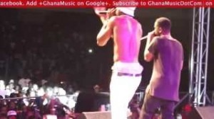 Sarkodie and Joey B perform Tonga at the Sarkology release concert