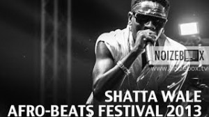 Shatta Wale at the AfroBeats Festival 2013 (Day 2)