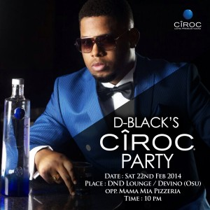 D-Black throws Ciroc 'Once in a Blue Moon' Party & Video Premiere on February 22