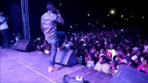 Stonebwoy performs live at Shatta Wale's Homecoming, Korle Gonno