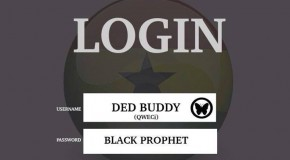 Ded Buddy & Black Prophet – Login (Prod by Ded Buddy)