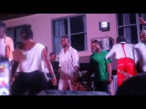 Daddy Lumba performs live with Kwadwo Nkansah Lil Win in Kumasi
