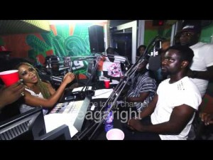 Sarkodie, Paedae, E.L, Dee Moneey and Eazzy freestyling on YFM