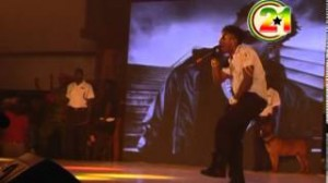 Shatta Wale performs live at the 2014 Ghana meets Naija