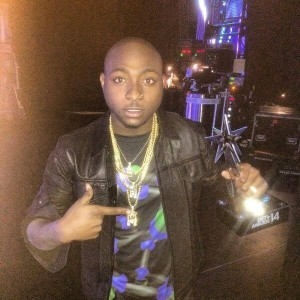 Davido beats Sarkodie, Tiwa Savage and others to win Best African Act at the 2014 BET Awards