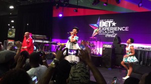 Mafikizolo performs Khona at the BET Experience at L.A. Live