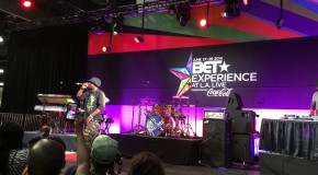 Sarkodie performs Illuminati at the BET Experience at L.A. Live