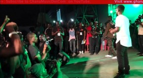 Sarkodie performs live at the EL B.A.R Concert