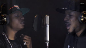 2Face Idibia & Wizkid Studio Session (Hennessy Artistry 2014)