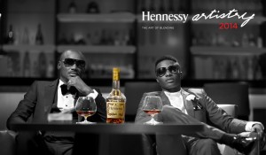 2Face Idibia & Wizkid unveiled as the Hennessy Artistry 2014 Headliners