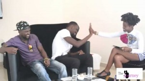 Yaa Pono and Shuga Kwame in an exclusive interview with Nayoka Oware on The Journey