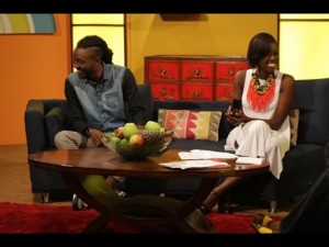 Bianca interviews Pappy Kojo on This Morning Show