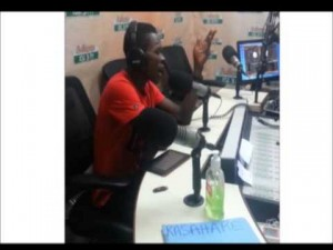 Strongman freestyling on Adom Kasahare Level with Pope Skinny