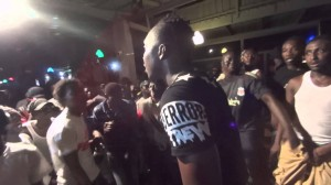 Fans sing along with Rashid Metal word for word to Big Man Ting live in Kasoa
