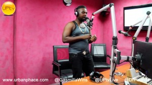Gasmilla freestyles on Hip-Hop GH with Dr Pounds