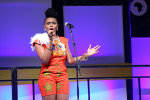 Watch Yemi Alade electrify Future Awards Africa with Kissing and Johnny performances