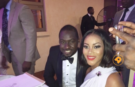 Photos: Chris Attoh and Damilola Adegbite Wedding, Couple ties knot on Valentine's Day