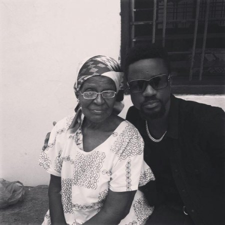 Sarkodie details how his grandmother, Mary died in his car