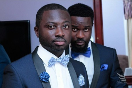 [Photos] Sarkodie was the best man for his stylist, Urban Effects