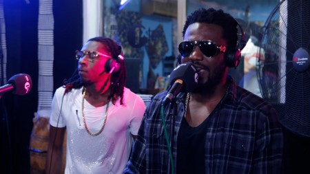 "R2Bees performs ""Slow Down"" with Live Band on BBC 1Xtra"