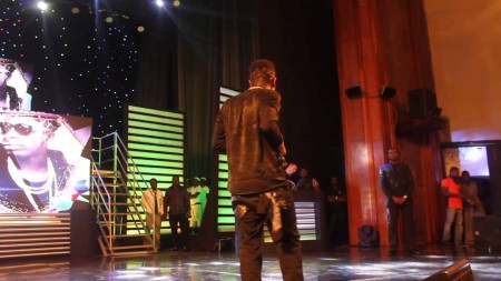 Shatta Wale performs to live band for the first time on stage at GN Bank Awards