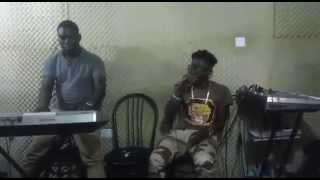 Shatta Wale live band rehearsal session