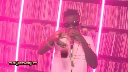Shatta Wale Crib Session freestyle with Tim Westwood