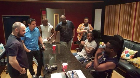 Sarkodie – New Guy feat. Ace Hood (Studio Session)