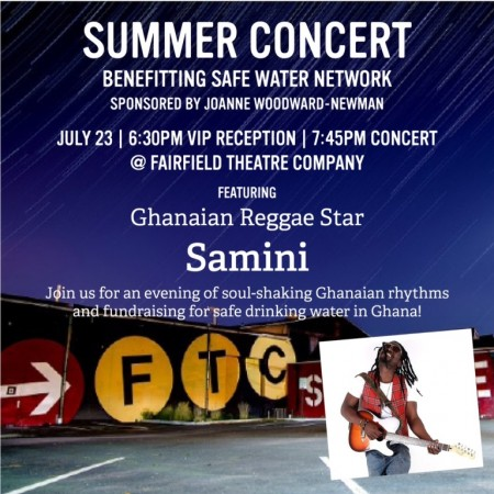 Samini Partners With Safe Water Network For Charity Concert