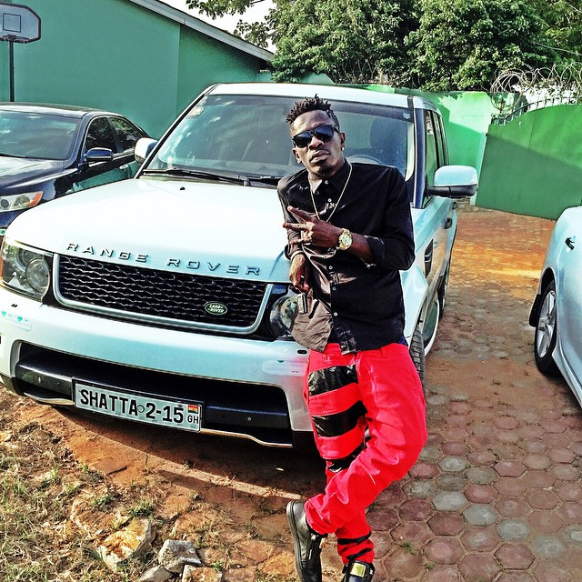 Shatta Wale Adds A Range Rover To His Fleet Of Cars