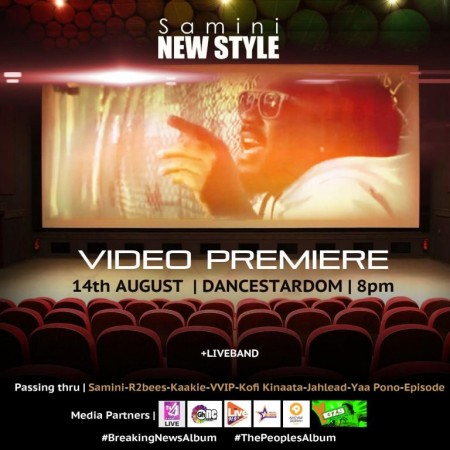 """Samini Explodes With """"New Style"""" Official Music Video"""
