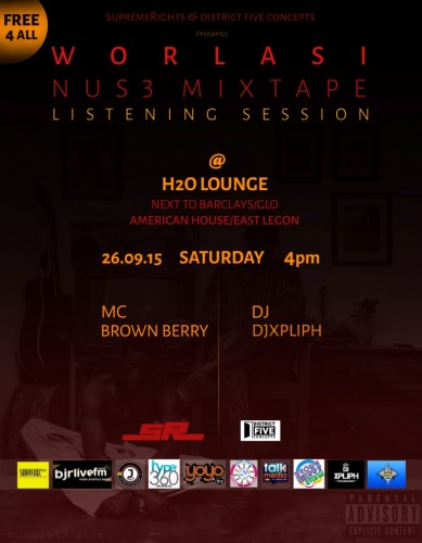 Nuse Mixtape Listening Poster