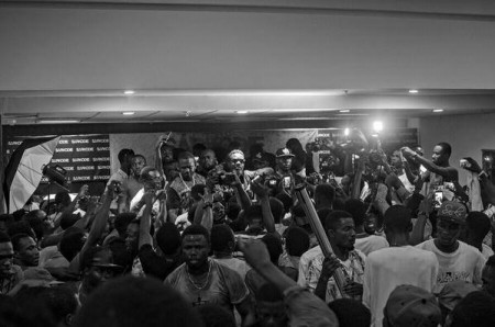 Exclusive Photos from Sarkodie's Mary Album Launch + Autograph signing