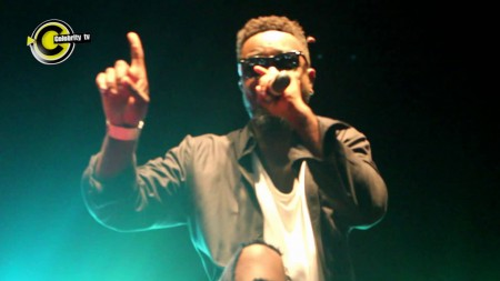 Sarkodie performs Mary with live band on stage